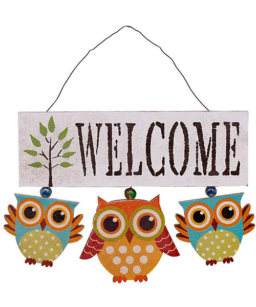 Waroom Home Welcome Sign For Front Door Home Decoration Deals