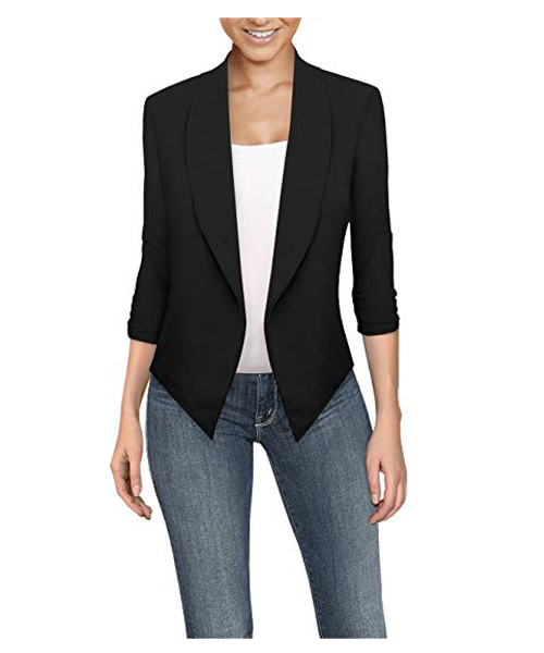 Women's Casual Work Open Front