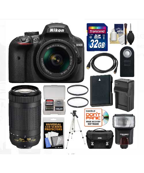 Nikon D3400 Digital SLR Camera Deals