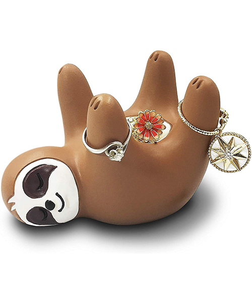 Funny Sloth Art Decoration Jewelry Holder Bowl Deals