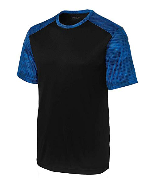 DRIEQUIP CamoHex Athletic Training T-Shirts Deals