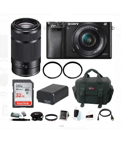 Sony a6000 Camera with 16-50mm Power Zoom Lens Deals