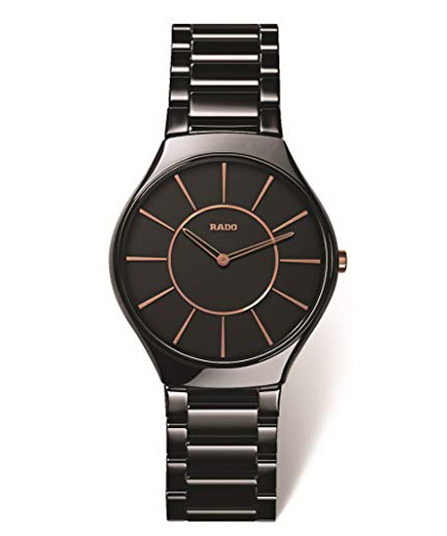 Rado Black Dial Ceramic Men's