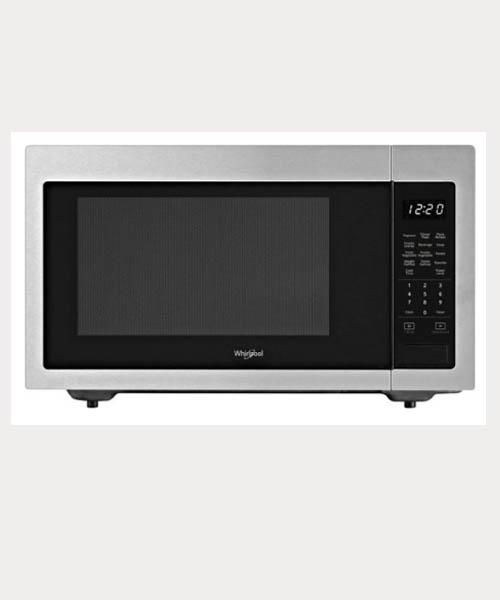 Whirlpool 1.6 cu. ft. full size Microwave- Stainless Steel Deals