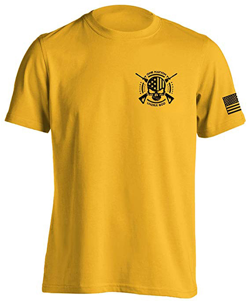 Dion Wear One Nation Military T-Shirt Deals