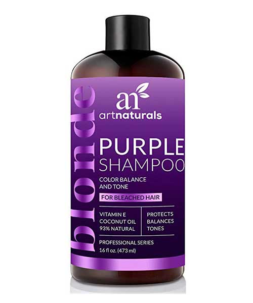 ArtNaturals Purple Shampoo for