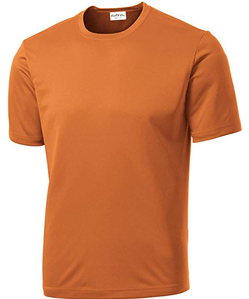 Clothe Co. Men's Short Sleeve Moisture Wicking T-Shirt Deals