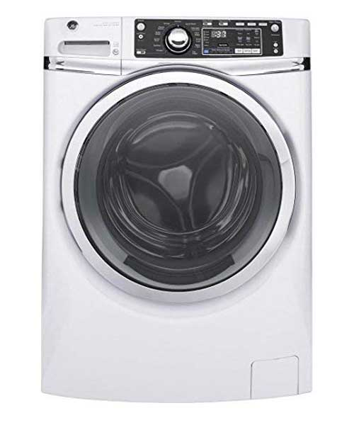GE Front Load steam GFW480SSKWW 28 Electric Dryer White Deals