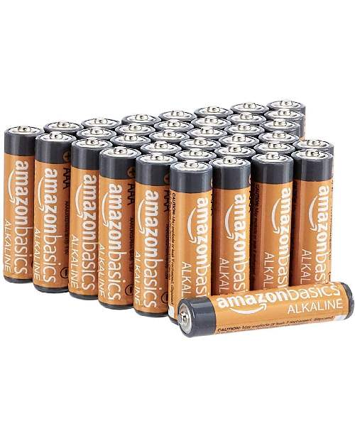 Amazon: 36 packs of Basics AAA 1.5 Volt Performance Alkaline Batteries Deals